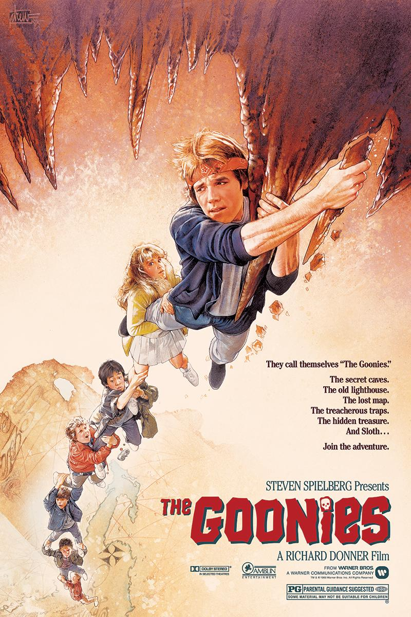 Drew Struzan - The Goonies - Contemporary Cinema Movie Film Posters