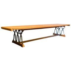 "Drexel ""Casa Del Sol"" Table Bench by John Van Koert Vintage, 1950s"