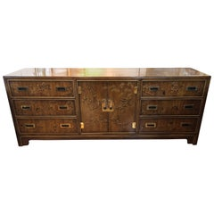 "Asian Chinoiserie ""Dynasty"" Dresser by Drexel Heritage"