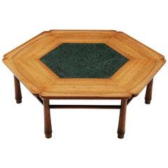 Drexel Heritage Hexagonal Coffee Table