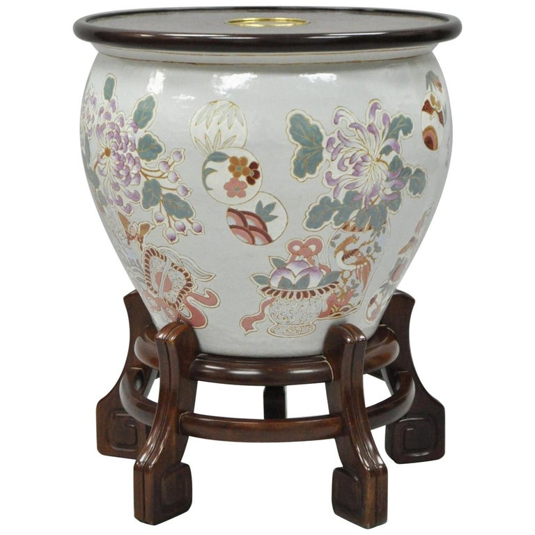 Ming Treasures Porcelain Chinese Urn