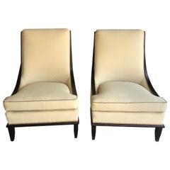 Drexel Heritage Pair of Runway Chairs