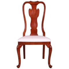 Drexel Heritage Queen Anne Mahogany Side Chair