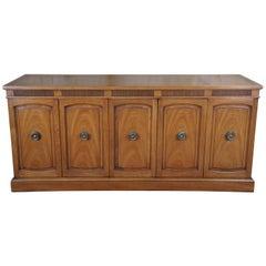 Drexel Italian Provincial Triune Mahogany Buffet Sideboard Mid-Century Modern 67