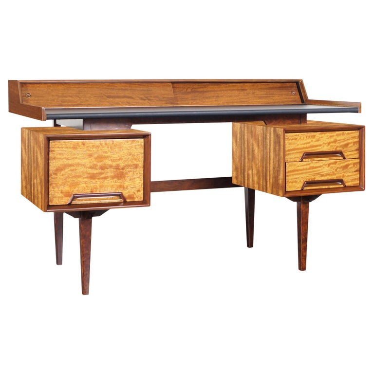 """Drexel """"Perspective"""" Floating Top Desk by Milo Baughman For Sale"""
