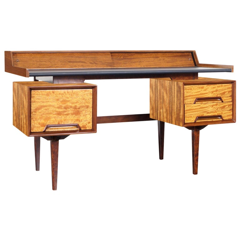 "Drexel ""Perspective"" Floating Top Desk by Milo Baughman"