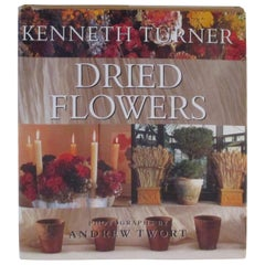 Dried Flowers Vintage Book by K. Turner