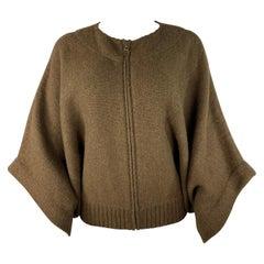 Dries Van Noten Brown Knit Sweater, Size Medium