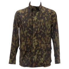 Dries Van Noten Men's Cotton Camouflage Jacket, Spring 2013