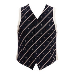 Dries Van Noten Men's Runway Nautical Suit Vest , Spring 1996