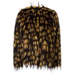 Dries Van Noten Reese Short faux-fur jacket