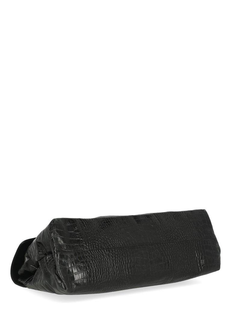 Dries Van Noten Women Handbags Black Leather  1