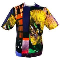 DRIES VAN NOTEN x MIKA NINAGAWA S/S 20 Size L Multi-Color Graphic Shirt