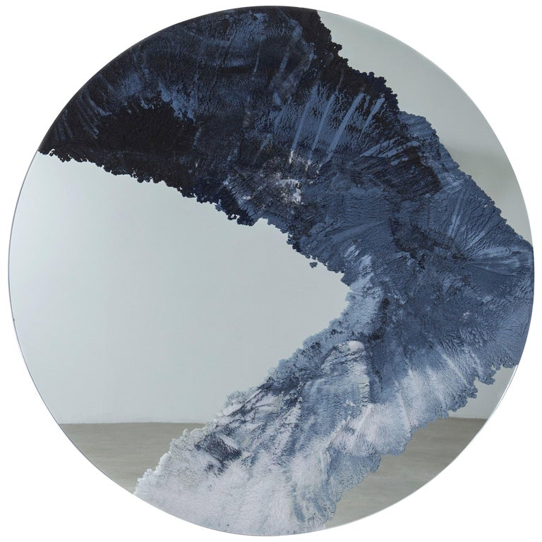 Drift Mirror, Sand and Mirror by Fernando Mastrangelo For Sale