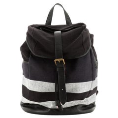Drifton Backpack House Check Canvas