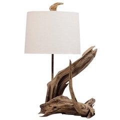 Driftwood Freeform Table Lamp