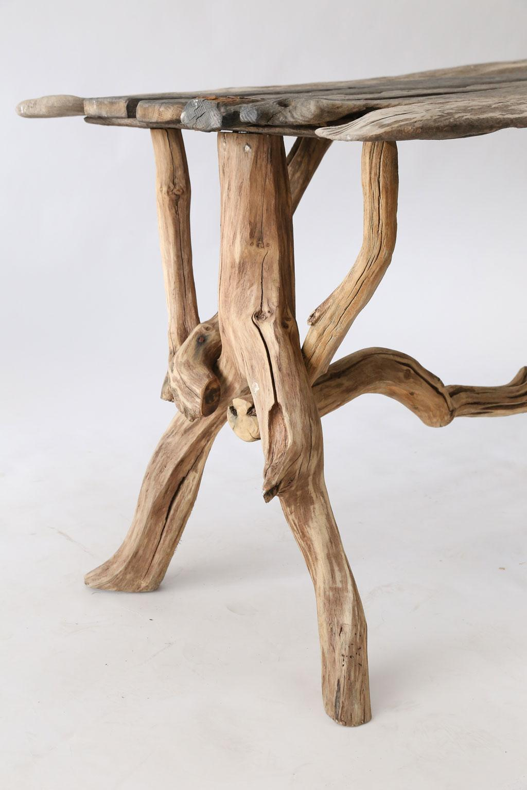 Driftwood Table At 1stdibs