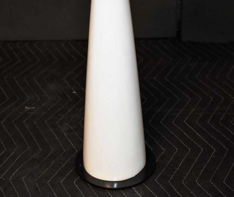 Drink Side Table with Shagreen Trim For Sale 1