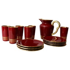 Drinking Set by Magdalithe, France, circa 1960