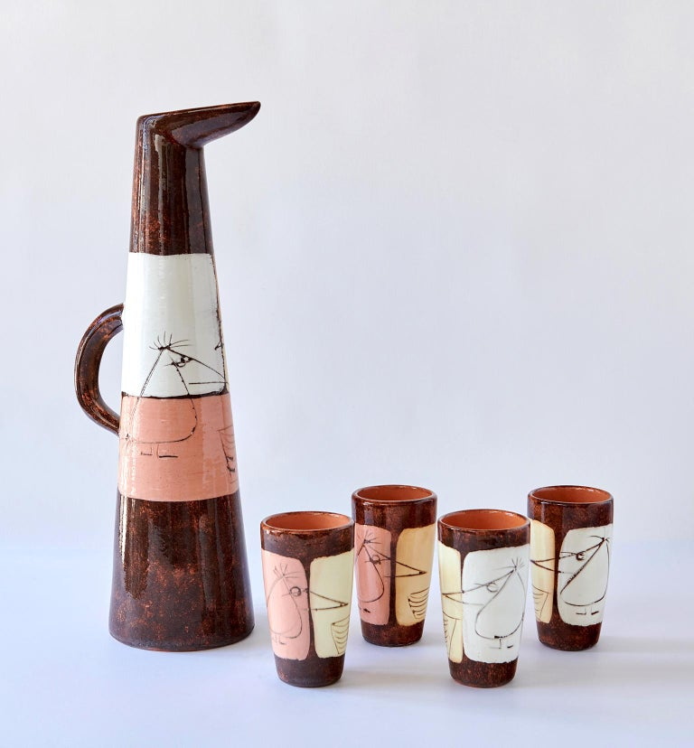 Drinks Set by Edmund Ronaky For Sale 3