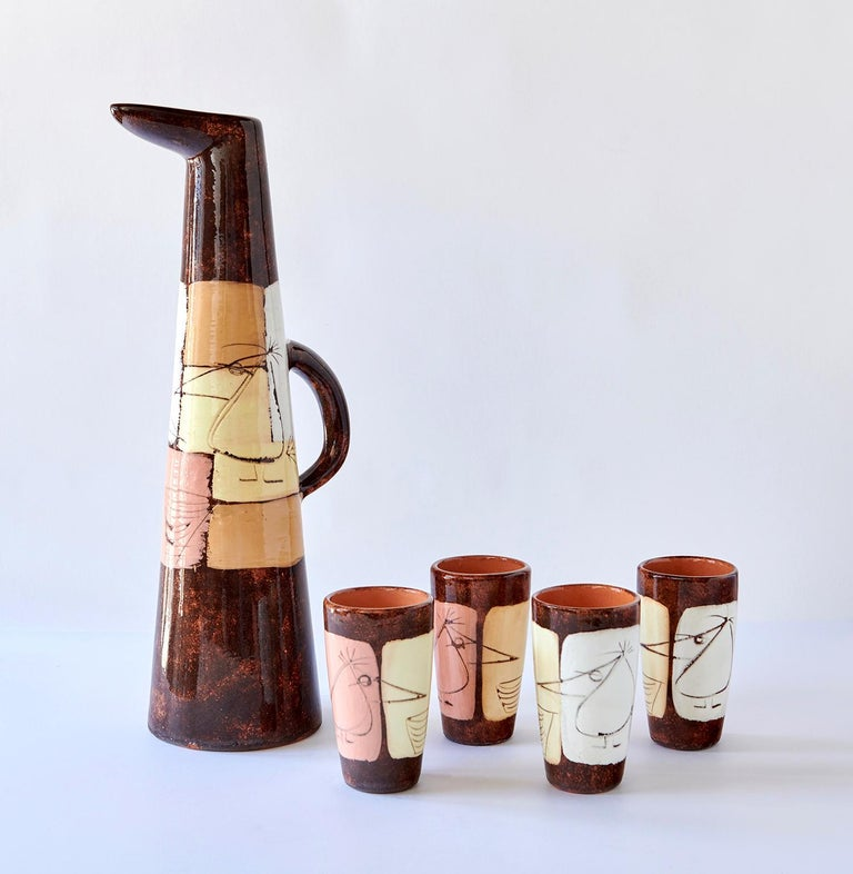 American Drinks Set by Edmund Ronaky For Sale