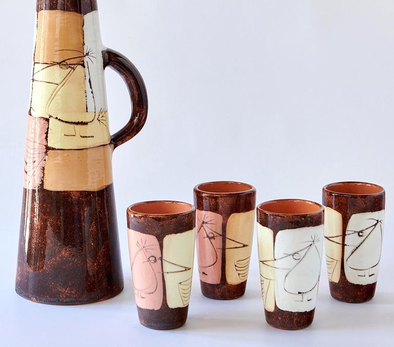 Drinks Set by Edmund Ronaky For Sale 1