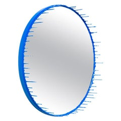 Drip Mirror, Primary Collection, Blue by Elyse Graham, USA, 2015