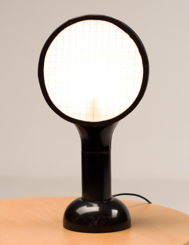 Italian Drive Table Lamp by Adalberto Dal Lago For Sale
