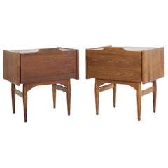 Drop Front End Tables by John Keal for Brown Saltman, circa 1950s