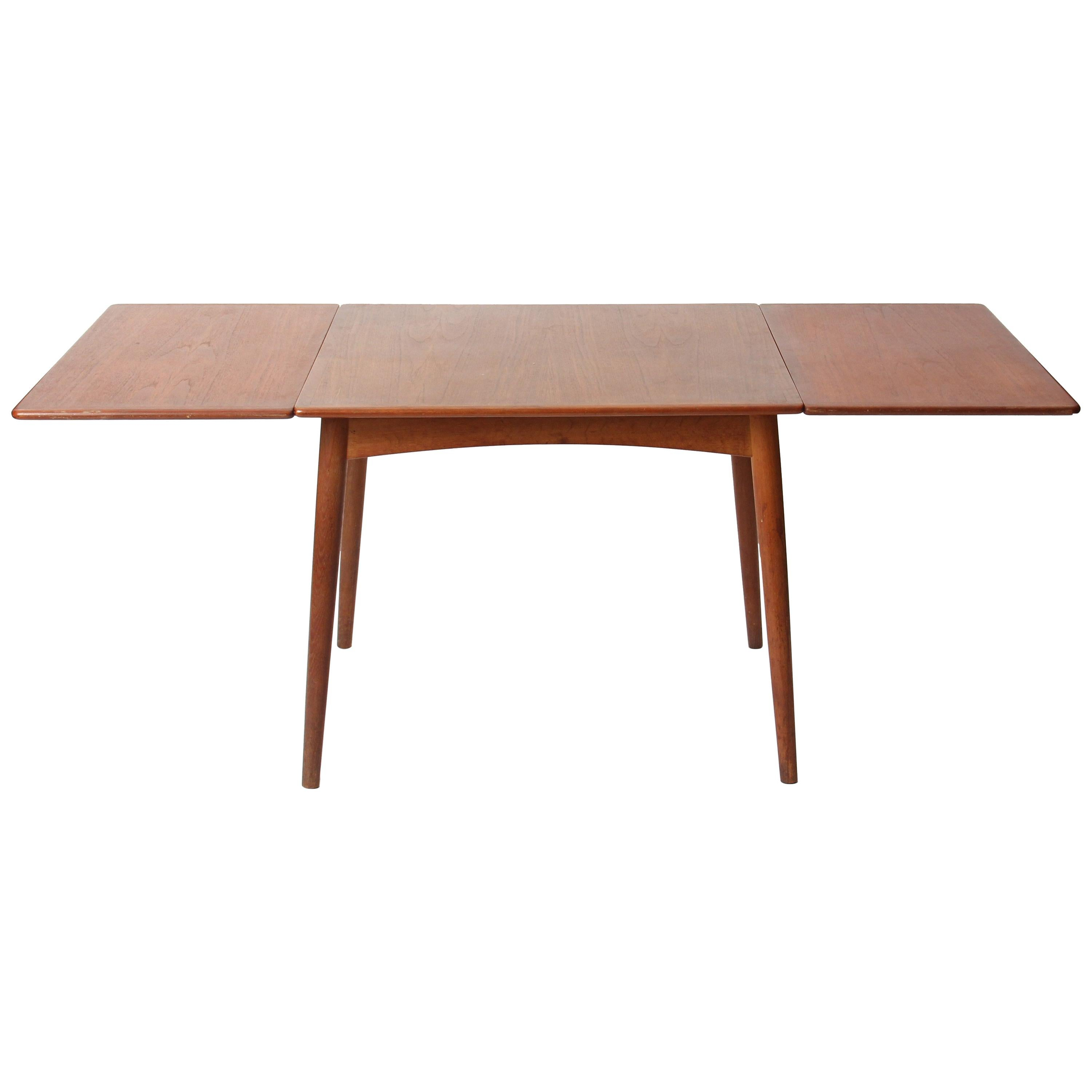 Drop-leaf Dining Table by Hans J. Wegner for Andreas Tuck