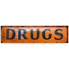 """DRUGS"" Sign"