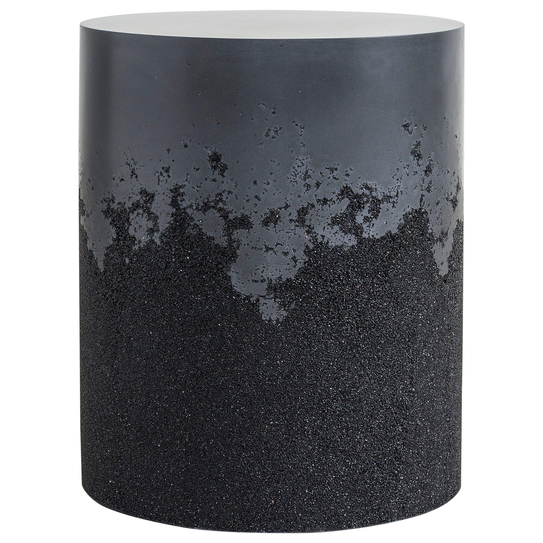 Drum, Black Cement and Black Silica by Fernando Mastrangelo