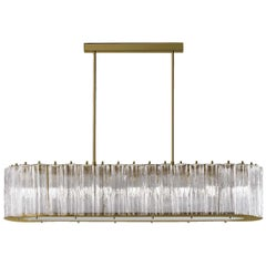 Drum Oval 9-Light Chandelier