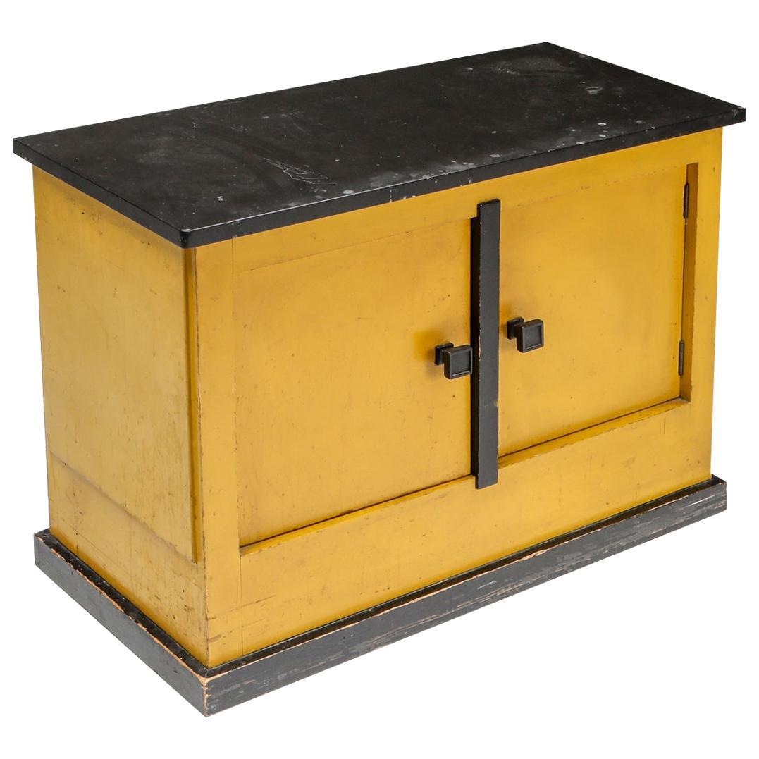 Dry bar Cabinet by Dutch Modernist H.Wouda 1924