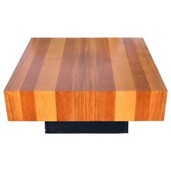 Drylund Danish Modern Cube Coffee Table