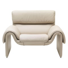 DS-2011 Bauhaus Leather Armchair by De Sede