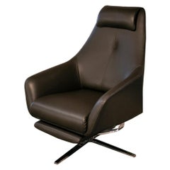 DS-277/11 Recliner in Brown Leather by Christian Werner