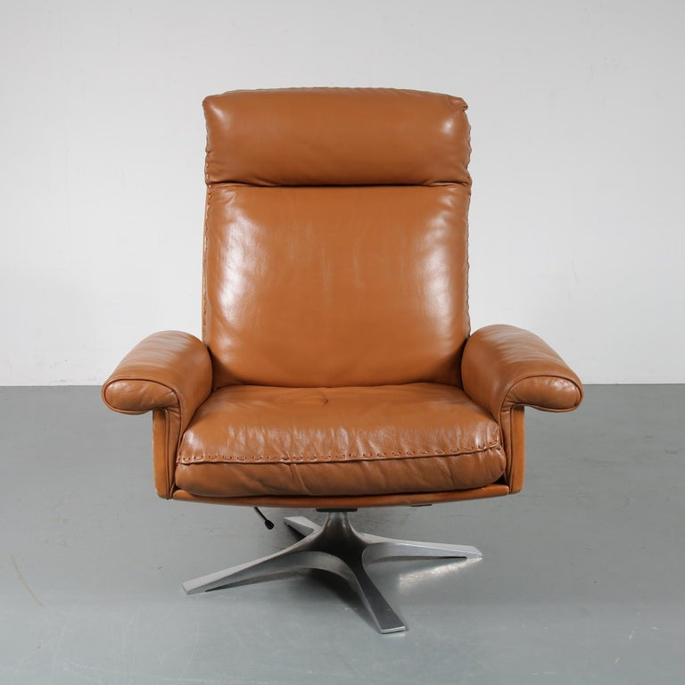 Mid-Century Modern DS 31 Lounge Chair by De Sede, Switzerland, 1970 For Sale