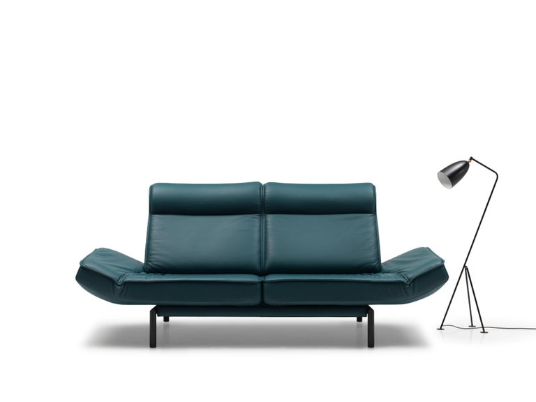 DS-450 Adjustable Leather Modern Sofa or Armchair by De Sede For Sale 5