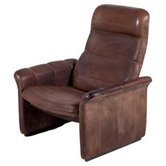 DS-50 Chocolate Brown Lounge Chair by De Sede