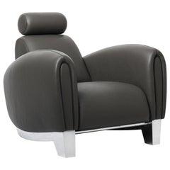 DS-57 Armchair with Headrest by De Sede