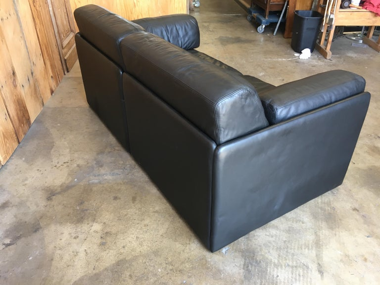 DS 76, De Sede Leather Sofa For Sale 4