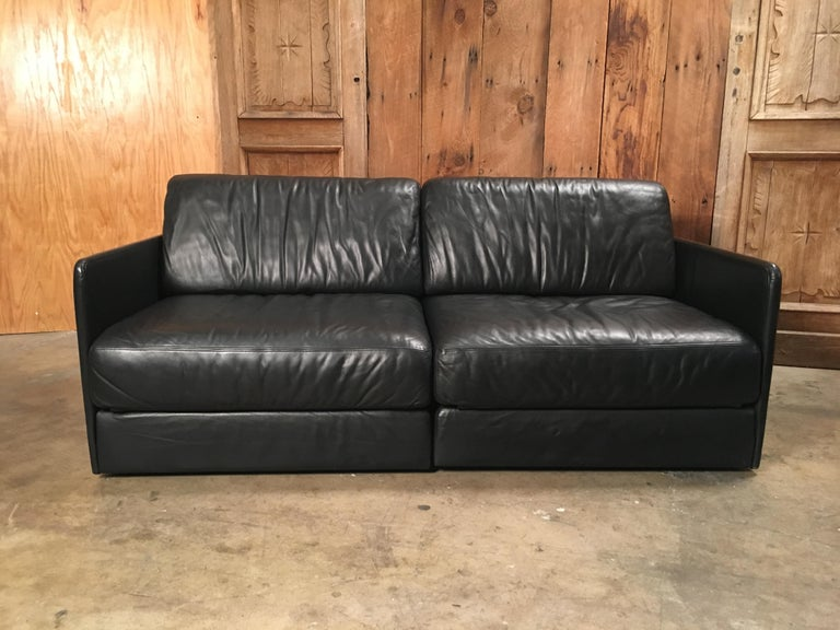 DS 76, De Sede Leather Sofa For Sale 8