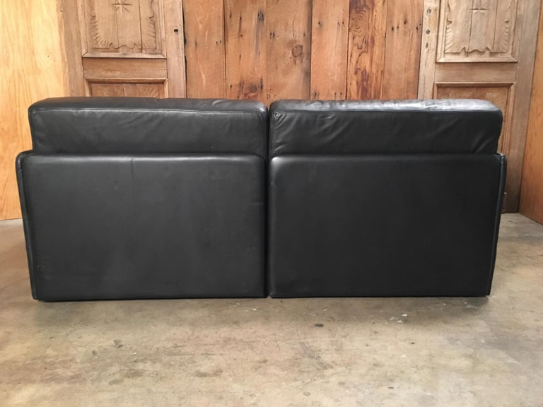 DS 76, De Sede Leather Sofa For Sale 1