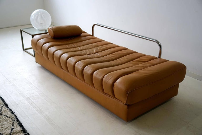 DS 85 De Sede Leather Sofa Daybed Canapé Chaise Longue For Sale 2