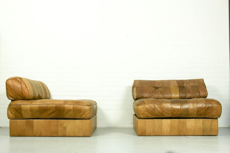 Swiss DS-88 Modular Patchwork Sofa by De Sede, 1960s, Set of 5 For Sale