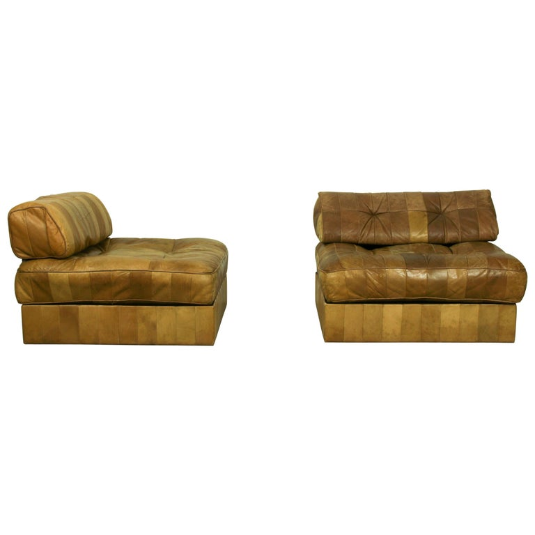 DS-88 Modular Patchwork Sofa by De Sede, 1960s, Set of 5 For Sale