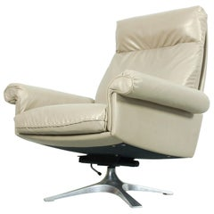 DS31 Highback Swivel Chair by De Sede Switzerland, 1970s