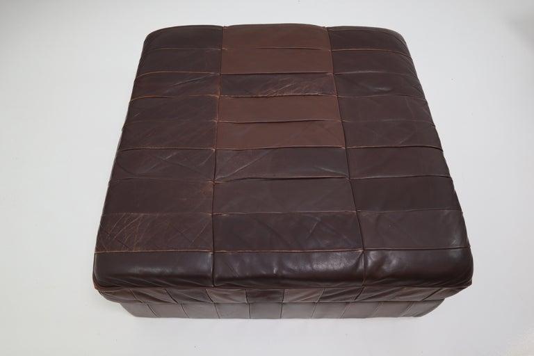 DS88 Modular Brown-Cognac Leather Patchwork Sofa for De Sede, Switzerland For Sale 4