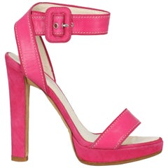 Dsquared2 Woman Sandals Pink Leather IT 36
